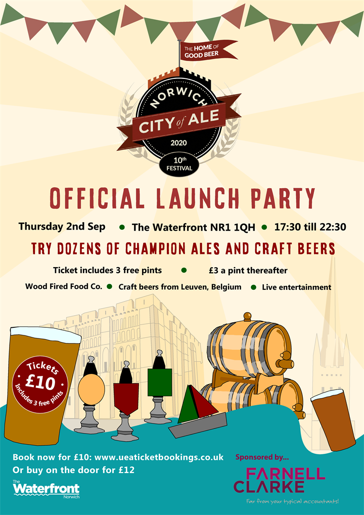 City of Ale 2021 – Official Launch Party