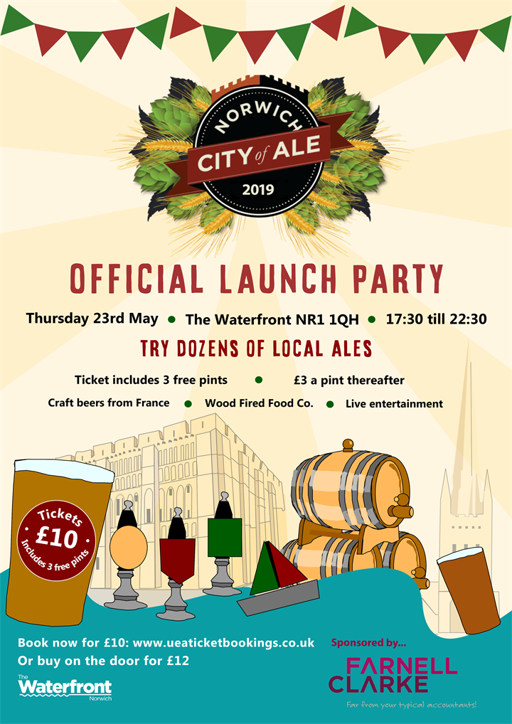 Norwich City of Ale 2019 Official Launch Party