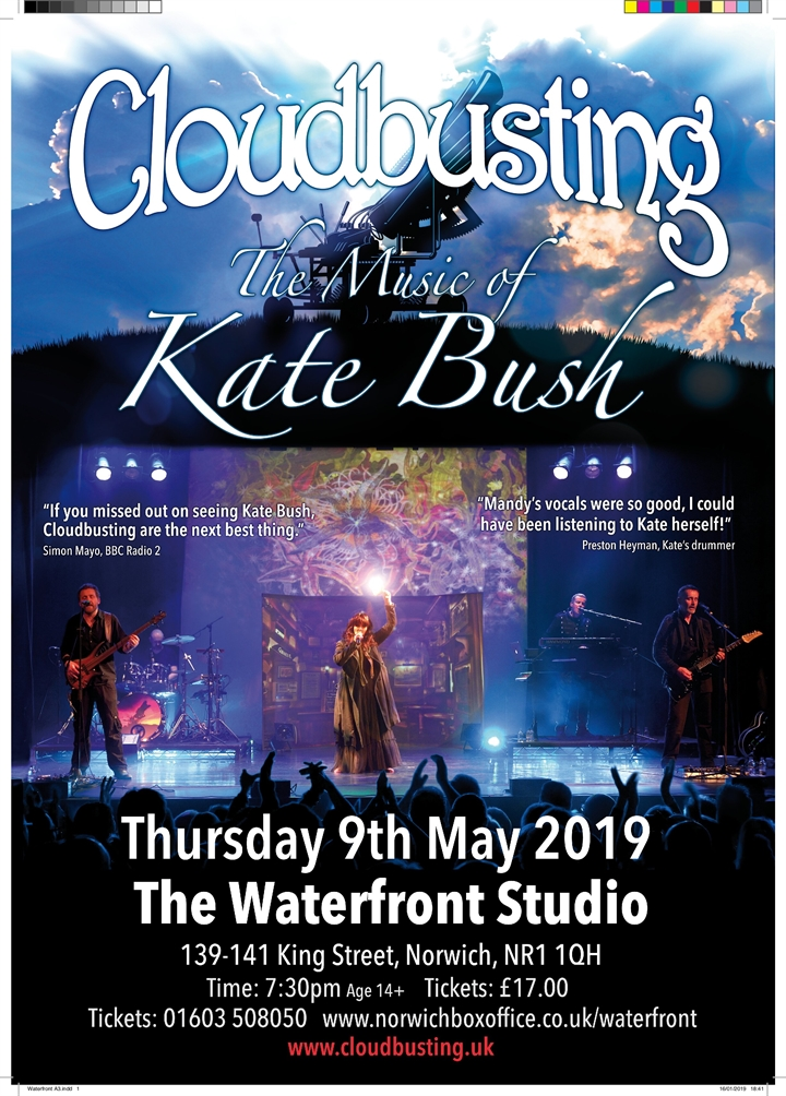 Cloudbusting - The Music of Kate Bush