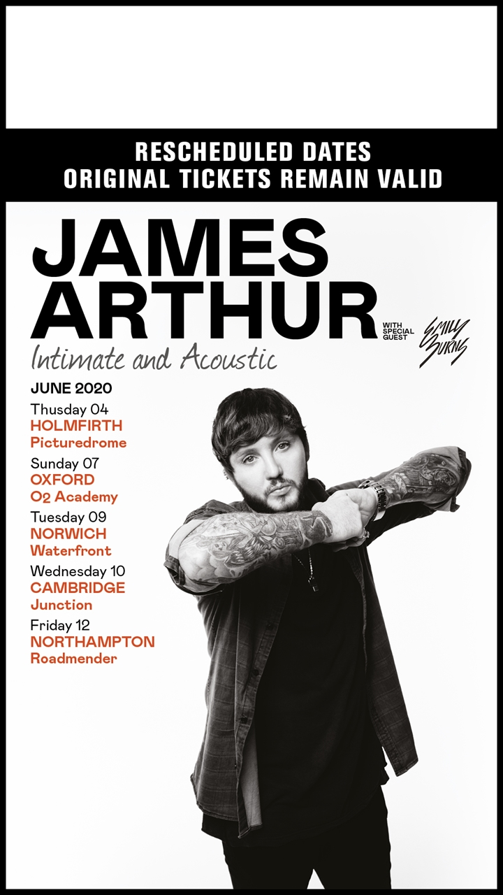 James Arthur - Intimate and Acoustic