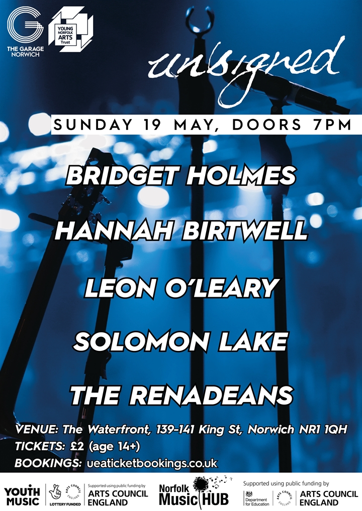 Unsigned - An Evening of Music From Local Young Musicians