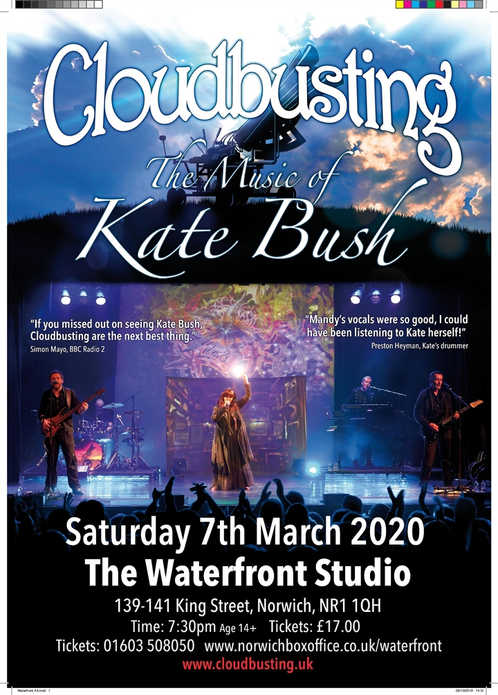 Cloudbusting – The Music of Kate Bush
