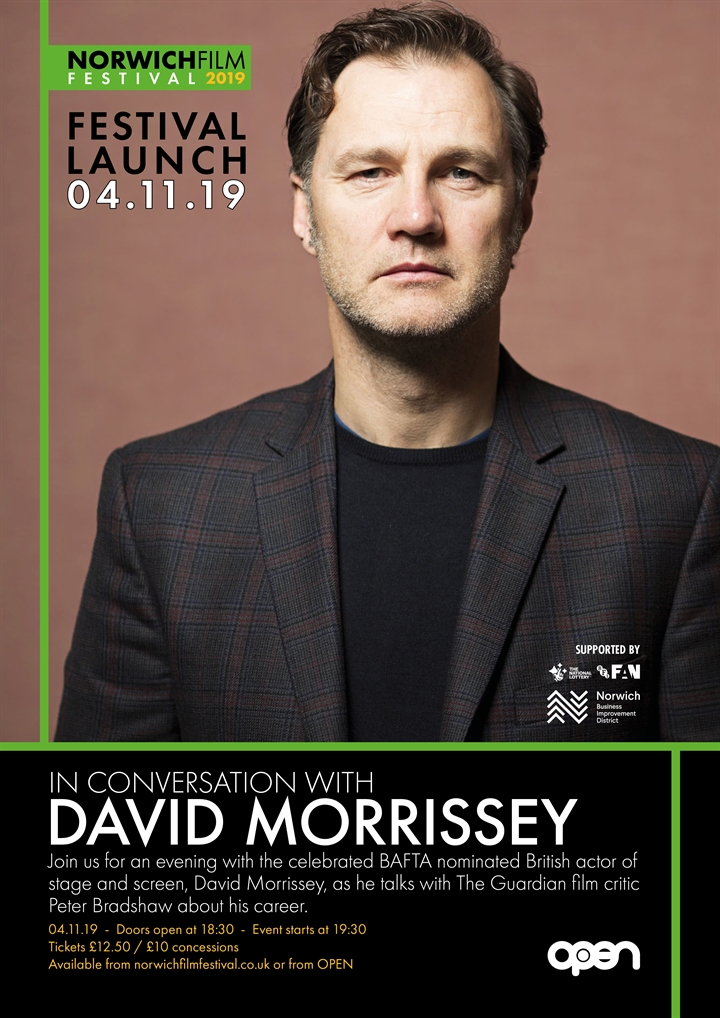 In Conversation with BAFTA Nominated Actor David Morrissey