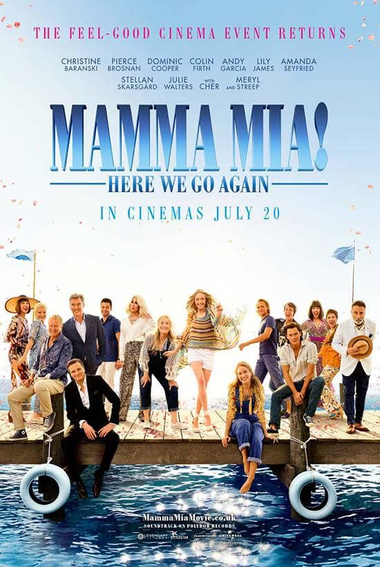 Drive In Movies - Mamma Mia! Here We Go Again