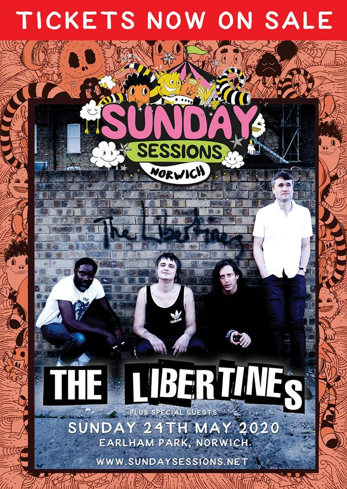 Sunday Sessions featuring The Libertines