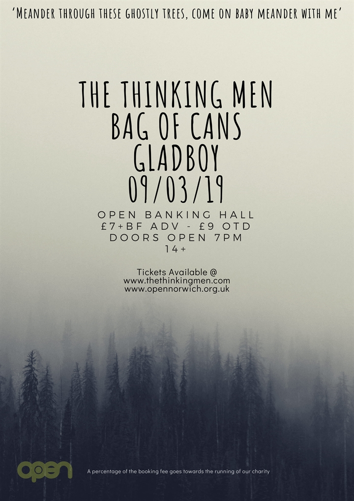 The Thinking Men + Bag of Cans + Gladboy