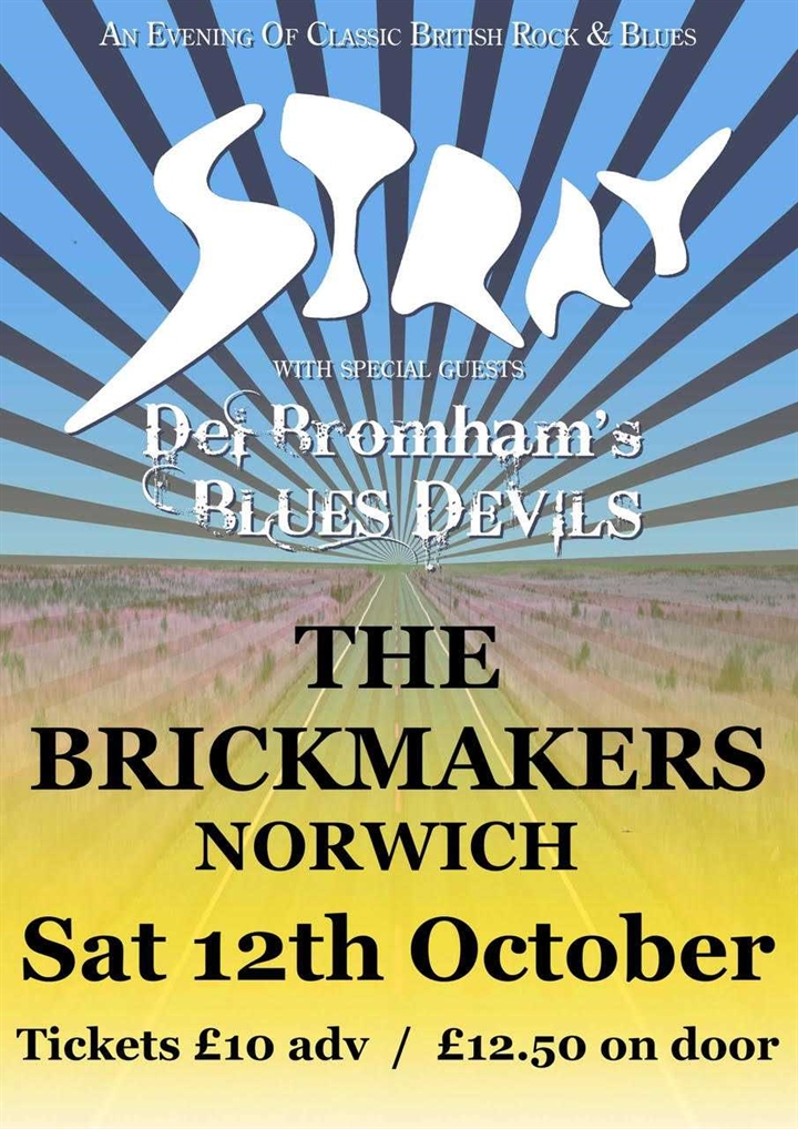 STRAY + DEL BROMHAMS BLUES DEVILS
