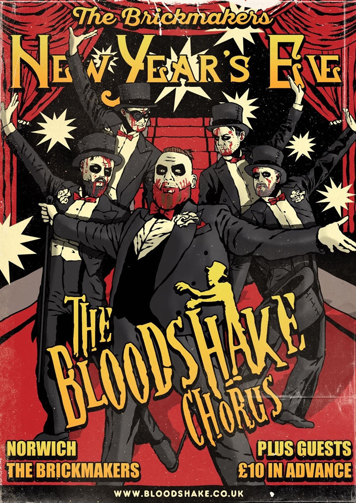 THE BLOODSHAKE CHORUS + SPECIAL GUESTS PLAY THE BRICKIES NYE BASH