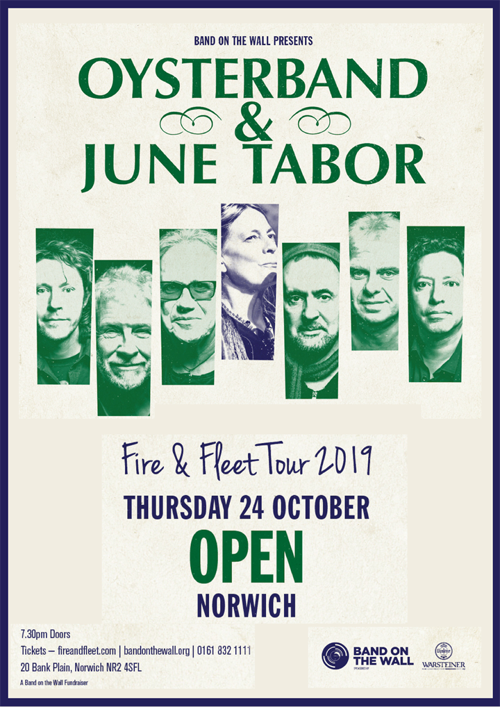 Oysterband and June Tabor 'Fire and Fleet' Tour