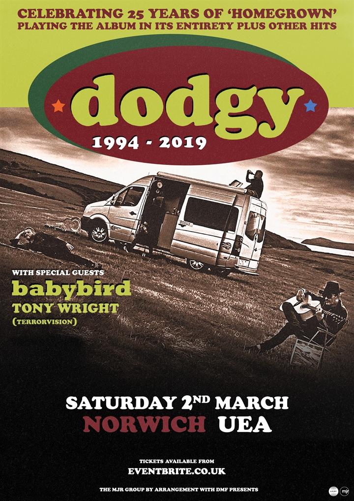 Dodgy (25th Anniversay of Homegrown)