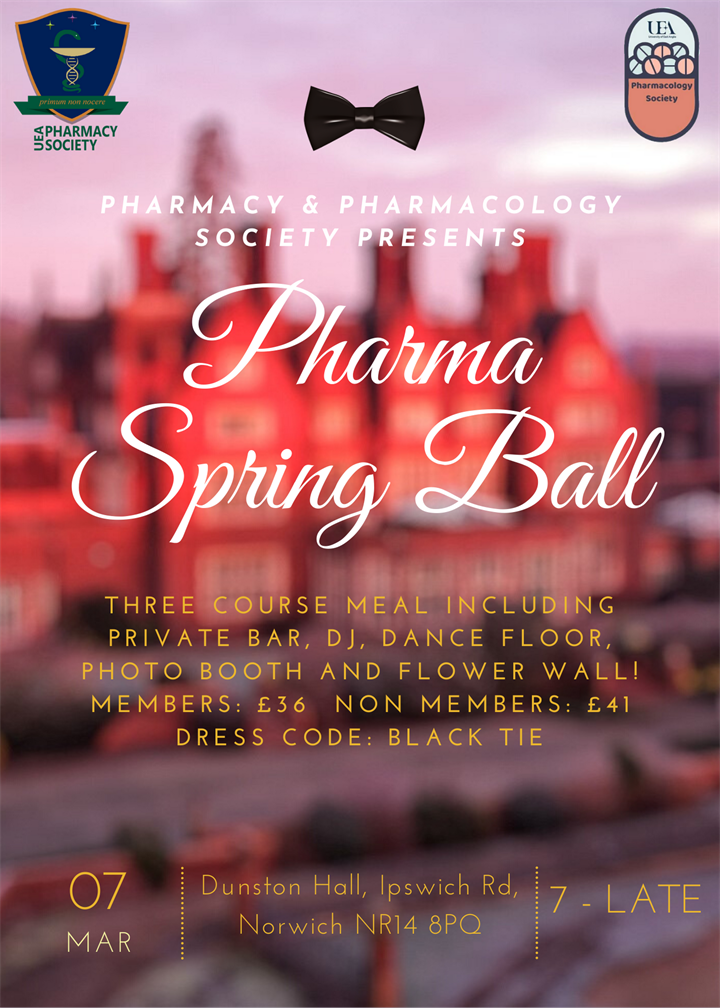 Pharmacy and Pharmacology Spring Ball