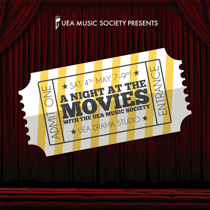 A Night at the Movies with the UEA Music Society